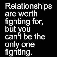 Two way street honey. And the decisions you make now will reflect the relationships you have in the future.