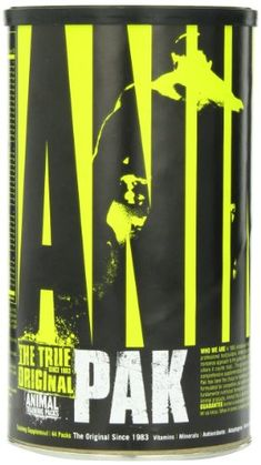 #Health - Universal Nutrition Animal Pak Sports Nutrition Supplement, 44-Count - List Price: $33.16 Buy New: $23.91