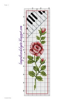 Vervaco Yellow Rose & Treble C Cross Stitch Music, Cross Stitch Boards, Cross Stitch Bookmarks, Cross Stitch Love, Cross Stitch Alphabet, Cross Stitch Flowers, Counted Cross Stitch Patterns, Cross Stitch Designs, Cross Stitch Embroidery