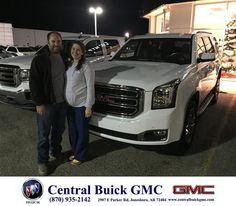 https://flic.kr/p/Cj6Kkd | Happy Anniversary to Brandon & Lindsey on your #GMC #Yukon from Justin Duckert at Central Buick GMC! | deliverymaxx.com/DealerReviews.aspx?DealerCode=GHWO