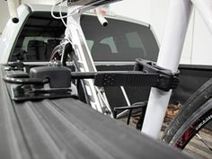 Inno Velo Gripper Bike Rack for Truck Beds - Clamp On Inno Truck Bed Bike Racks Truck Bed Bike Rack, Truck Bed Rails, Truck Bed Storage, Tyre Shop, Scrambler Motorcycle, Motorcycles, Bike Mount, Jeep Gladiator, Truck Accessories