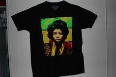 997a93a082 Jimi Hendrix Artist Music Rockin  Artwork Graphic T-Shirt