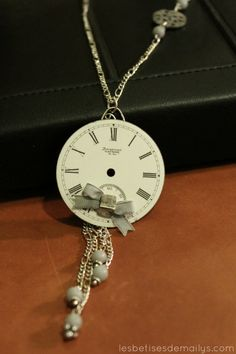 Collier bijou style vintage / Necklace jewel par lesbetisesdemailys, $55,00