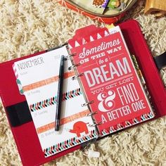 Filofax love with POCKET PAGES.