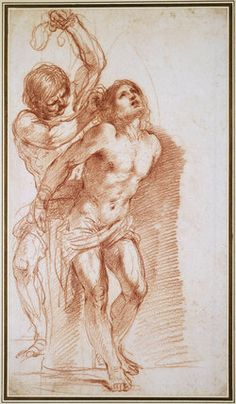 Giovanni Francesco Barbieri (1599-1666), The Flagellation of Christ