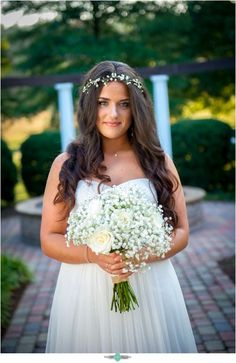 Megan and Adam's Rustic Morning Wedding at Lenora's Legacy. Photo credit: Melody Gillikin Photography