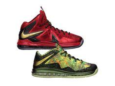 5147d17f018 Nike LeBron X Celebration Pack Lebron James Images