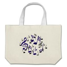 I love Music_ Canvas Bags Music notes Tote bag, Bags comes in different styles,colors and sizes, by Zazzlegirboy09 http://www.zazzle.com/i_love_music_canvas_bags-149611795047666060