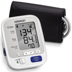 Omron 5 Series Blood Pressure Monitors BP742N is a fast and accurate device to check your blood pressure at home. Dual settings for two different users and memory storage space for 100 readings is what makes this stand out.