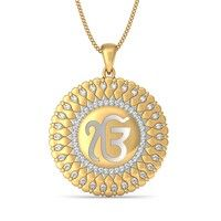 The ek onkar pendant hindi and punjabi thoughts pinterest the sacred ek onkar pendant aloadofball Images