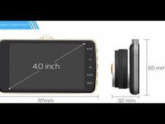 4.0 INCH IPS SCREEN CAR DVR, DASH CAMERA FULL HD 1080P VIDEO