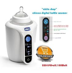 Chicco Digital Bottle Warmer bukan sekedar penghangat botol susu biasa, dengan 12 program yang tersimpan alat bisa menyesuaikan dengan kebutuhan Ibu.  Menghangatkan asi perah/susu formula/makanan MPASI adalah kegiatan sehari-hari yang biasa dilakukan oleh orang tua yang memiliki bayi. Menghangatkan minuman/makanan tersebut dengan tujuan agar bisa dikonsumsi oleh bayi dengan baik. Menghangatkan harus memiliki cara khusus, tidak boleh terlalu cepat karena bisa menghilangkan nutrisi yang ada…