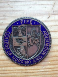 Fife College of Nursing and Midwifery - Class of '89. Blue trim for RMN/RGN or Green trim for EN :) via Twitter @salstweeting