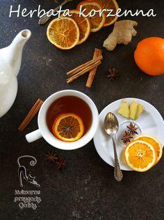 Zimowa-herbata-korzenna Tea For One, Chocolate, Drinking Tea, Tea Time, Tea Pots, Sweet Tooth, Dessert Recipes, Food And Drink, Drinks