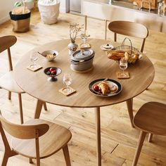 Minimalist Interior, Restaurant Bar, Table Settings, New Homes, Dining Room, Kitchen, Tables, House, China
