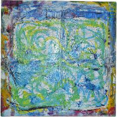 Becker best no.. 55 acrylic abstract by EchteBeckerArtworks