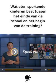 Wat eten sportende kinderen best na school maar voor de training? Bekijk de video op http://www.evermove.com/sportvoeding-jongeren-school-training/