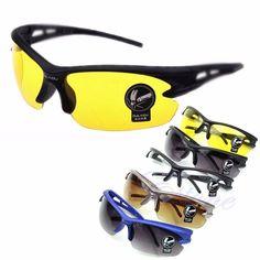HOT SELLER Limited Supply Sports UV400 HD Night Vision Driving Glasses Sunglasses Ultra Angler
