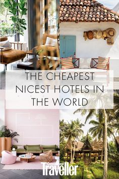 The cheapest nicest hotels we love These are the 33 loveliest affordable places to stay across the world, starting with the cheapest Affordable Hotels, Cheap Hotels, Romantic Destinations, Travel Destinations, Beautiful Hotels, Beautiful Places, Beste Hotels, Ubud, Travel Couple