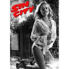 Brittany Murphy in Sin City James Bond Movie Posters, Movie Poster Art, Film Posters, Sin City Movie, Sin City 2, Good Girl, Tim Burton, Films Western, Vintage Posters
