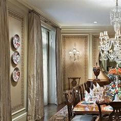 Antique British Dining Room | Dining Rooms | LUXE Source