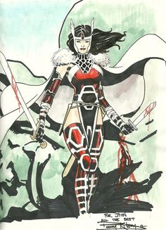 Lady Sif by Barry Kitson