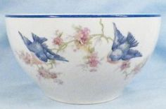 Bluebird bowl!  I love these dishes - I have several of them,,,,,,,