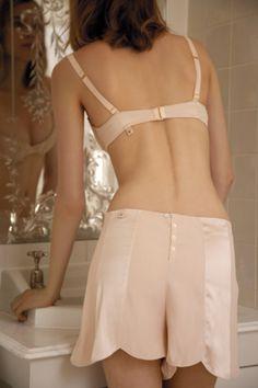 Scalloped tap pants by Stella McCartney Lingerie