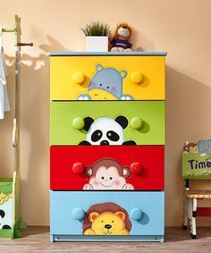 This Sunny Safari Drawer Set is perfect! #zulilyfinds
