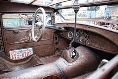 How to do a rat rod interior right: Flickr photo of the day | Motoramic - Yahoo! Autos