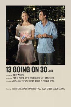 Iconic Movie Posters, Iconic Movies, Film Posters, 13 Going On 30, Movie Prints, Movie Photo, Movie Tv, Alternative Movie Posters, Romance Movies