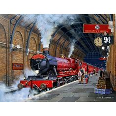 Hogwarts Express by Wynne Jones