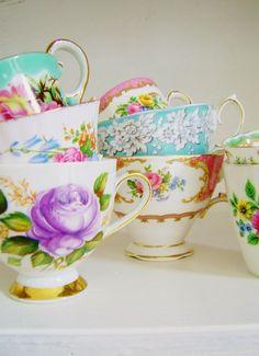 Tea cups.