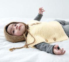 Modèle bonnet laine Rapido Layette - Modèles Layette - Phildar