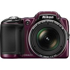 Hello Christmas wishlists it's a Nikon - Coolpix L830 16.0-Megapixel Digital Camera - Plum - Larger Front only $199.00