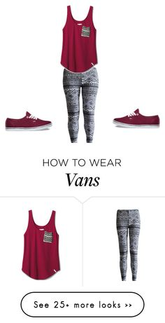"""""""Untitled #925"""" by kiky-miskovic on Polyvore featuring TOMS and Vans"""