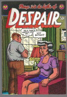 Despair 1 All Robert Crumb Stories Art First Print 1969 The Print Mint SF CA | eBay