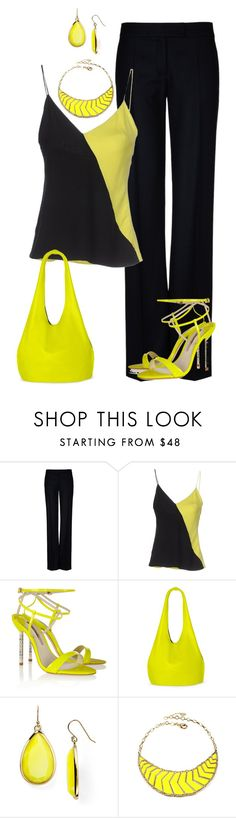 Sin título #1297 by marisol-menahem on Polyvore featuring moda, FAUSTO PUGLISI, STELLA McCARTNEY, Sophia Webster, Vince Camuto, Amrita Singh, Kate Spade, women's clothing, women's fashion and women