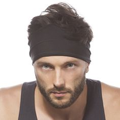 """Sporty Touch 4\"""" Wide Men Headband / Sweatband Best for Sports, Running, Workout, Yoga   Elastic Hair Band - Ultimate Athletic Performance ** Check out the image by visiting the link."""