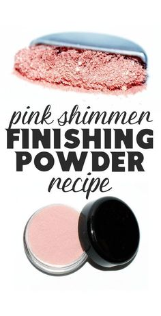 Looking for more natural and beauty skin care options for your cosmetics? This DIY pink shimmer finishing powder gives skin a warm illuminating glow without unnecessary chemicals or preservatives. Not only will your skin look & feel better, but you'll als Homemade Skin Care, Diy Skin Care, Homemade Beauty, Skin Care Tips, Diy Beauty, Beauty Care, Beauty Tips, Clean Beauty, Beauty Secrets