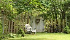 Aiken House & Gardens: Inside ~ Out Easy Garden, Lawn And Garden, Home And Garden, Garden Ideas, Garden Fun, Garden Living, Farm Pictures, Garden Pictures, Garden Gates And Fencing