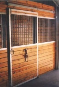 DIY Horse Stalls:  Sliding Stall Doors ... The EQUUS Stall System consists of a selection of horse stall components. Rugged, heavy gauge, and galvanized steel components.  Uses galvanized U-Channels.  Combine individual components to build the stall you want in the space allotted.
