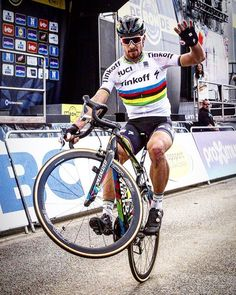 Winning bike races and popping wheelies Peter Sagan  ‏@modcyclingphoto