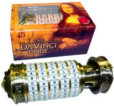 the Davinci Code mini Cryptix I need this!!