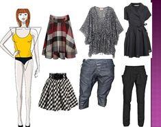 ropa para mujeres triángulo invertido - Buscar con Google