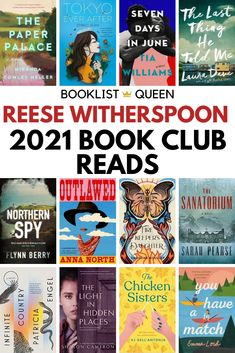 Enjoy the complete Reese Witherspoon book club list with all of Reese's book club picks. You'll find plenty of bestselling books among the Reese Witherspoon Book Club reading lists   book club 2021   reese witherspoon book club 2021   reese witherspoon book club list   book club recommendations   best book club reads   great book club reads   reese witherspoon favorite books   best books reese witherspoon   book club books reese witherspoon   books to read reese witherspoon Book Club List, Book Club Recommendations, Best Book Club Books, Book Club Reads, Best Books To Read, Got Books, Book Lists, Reese Witherspoon Book Club, Starting A Book