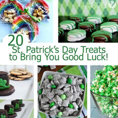20 St. Patrick's Day Treats to Bring You Good Luck! howdoesshe.com
