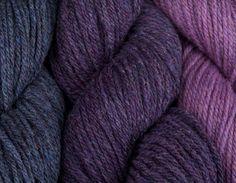 Rich shades of Alice Starmore Hebridean 3 Ply