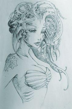 Siren by Avionetca.deviantart.com on @deviantART