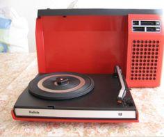 Tourne-disques des années 60 collection